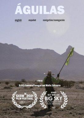 Águilas: A documentary film book cover