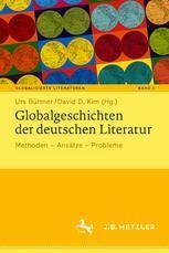 Globalgeschichten der deutschen Literatur book cover